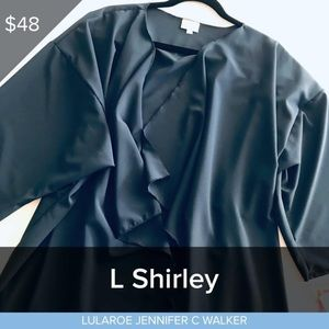 Large Navy Blue Shirley NWT